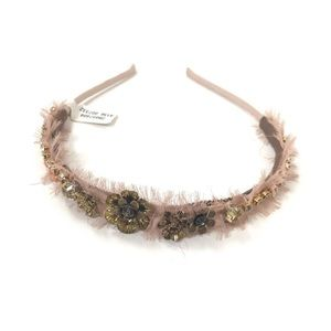 NWT Anthropologie Jeweled Headband